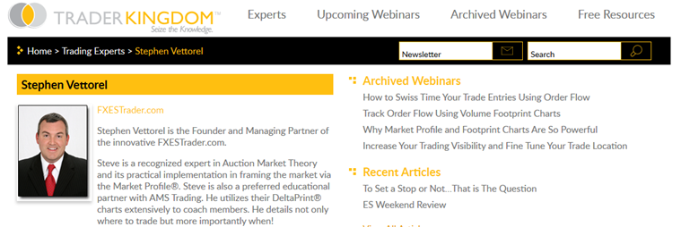 Futures Trading Education Webinars - FXESTrader